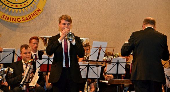 Åsenhöga Brass Band på Centrumkåren