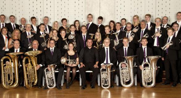 Åsenhöga Brass Band på andra plats