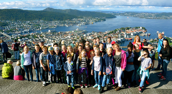 ÅYBB reste till Bergen